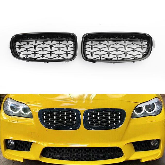 M2 Style F22 High Quality Replacement Custom Black Grill Also Fit