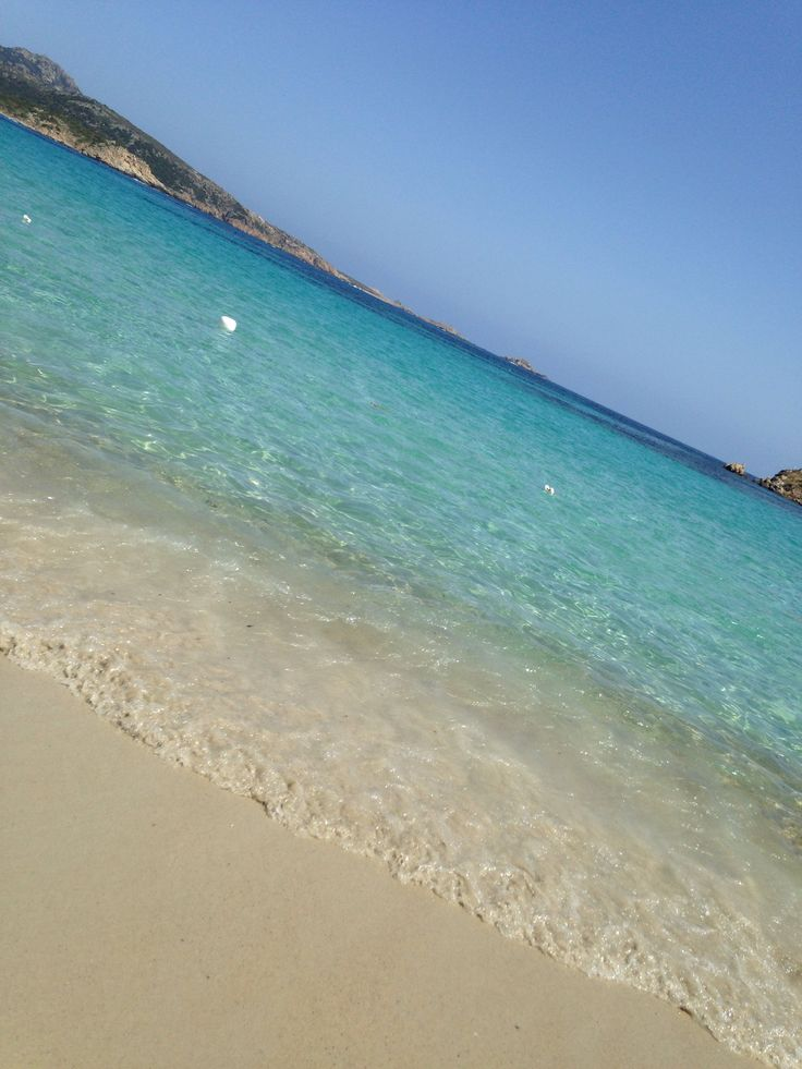 Crystal clear water, Sardinia