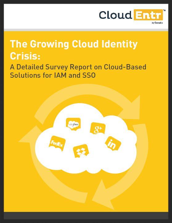 Survey Report: The growing cloud identity crisis