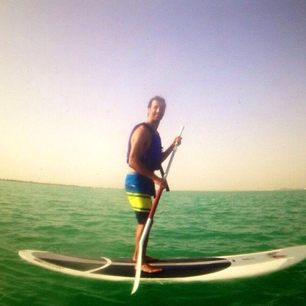 #me #paddleboard #beach #loveit #summer #noracesF1 #F1 #just #chill #vacations