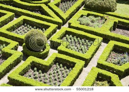 Geometric garden math garden pinterest gardens for Geometric garden designs