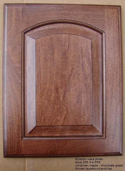 Roman Arch Top Cabinet Door