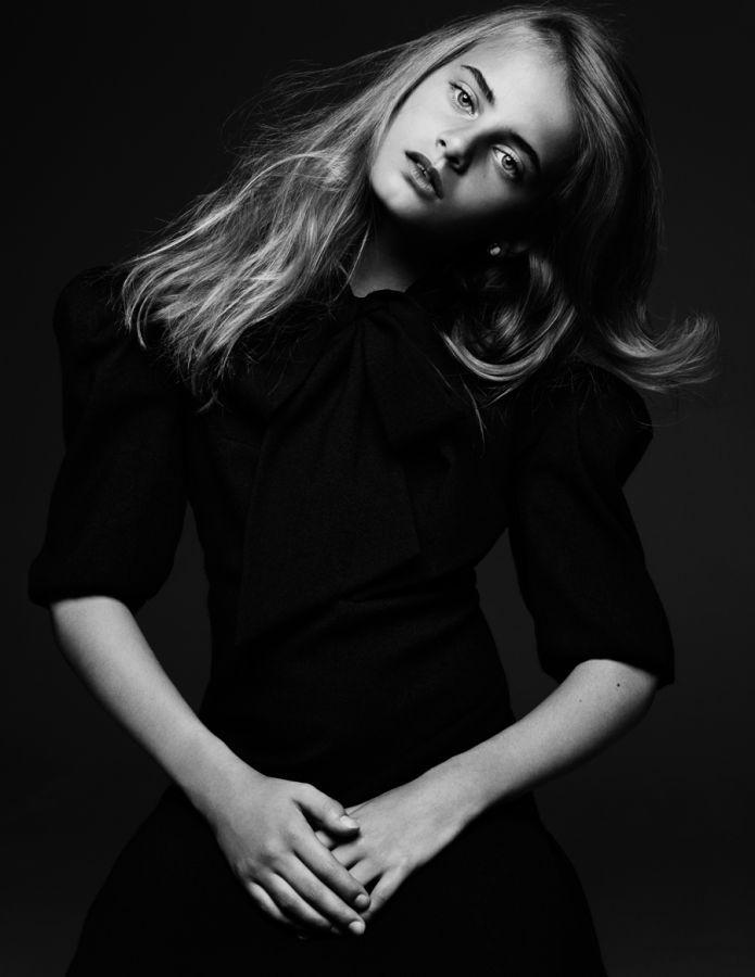 Violette d'Urso photographed by Hedi Slimane for Vogue Paris _