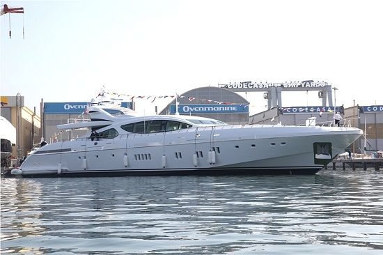 Overmarine launches 7th Mangusta 165, the fastest Maxi Open Yacht in the world