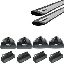 Thule Rapid Podium SILVER AeroBlade Fixed Point Roof Rack for Camper Shell Applications