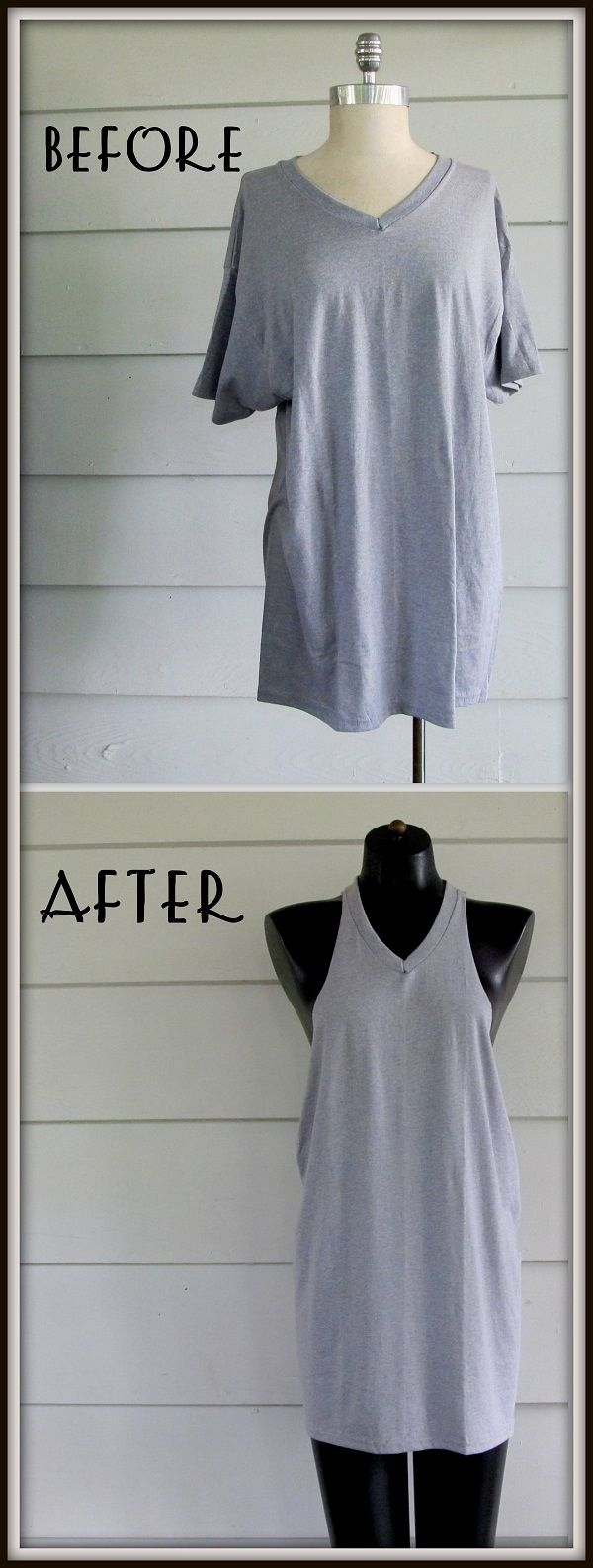 25+ best ideas about Shirt makeover on Pinterest