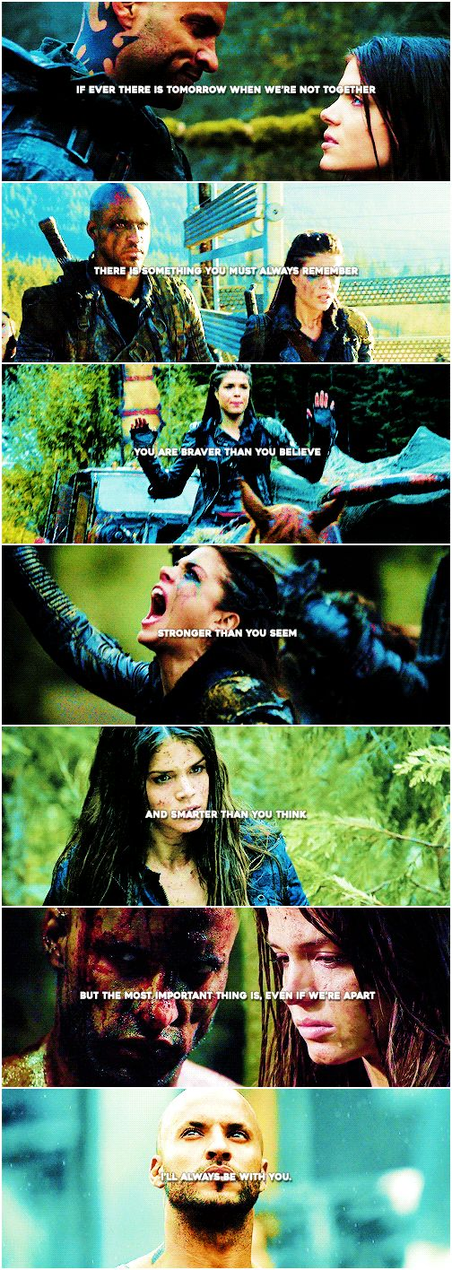 Octavia Blake and Lincoln || The 100 || Linctavia || Marie Avgeropoulos and Ricky Whittle