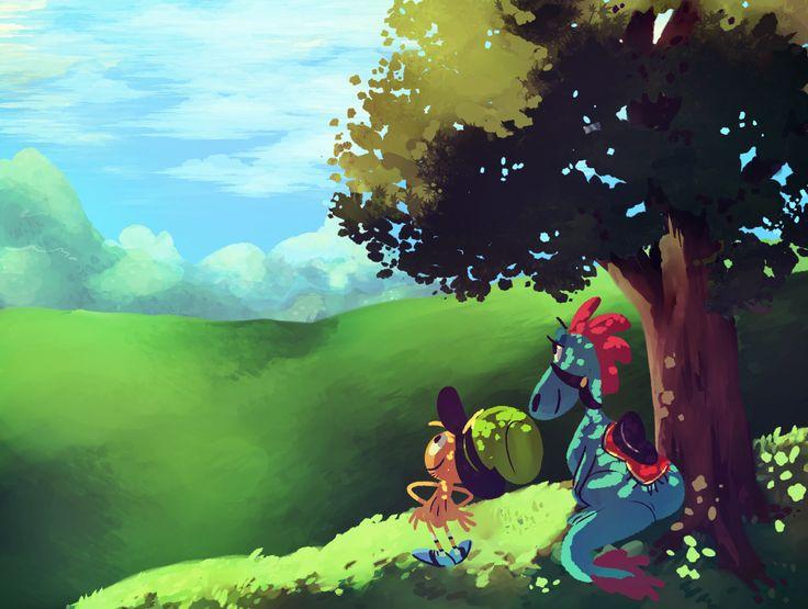 Wander over yonder - wander and sylvia