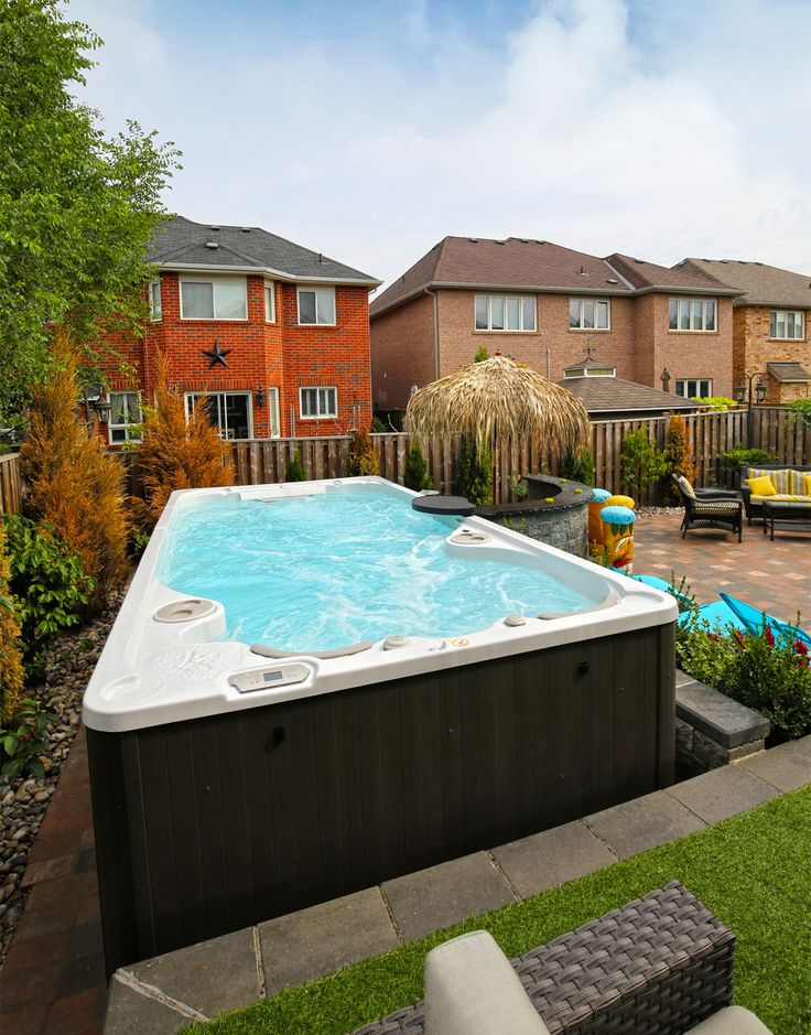 Rooftop Pool Small Pools Backyard Spa Pergola Swimming You Watches House