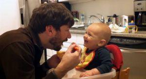 მამების ძალა - ვიდეო, რომელიც დადებითი ემოციებით აგავსებთ (+VIDEO)