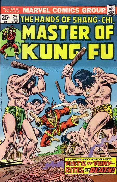 Shang-Chi (Earth-616), Sir Denis Nayland Smith, and Black Jack Tarr have begun a long trek through the Brazilian jungle. The paddlewheeler that brought them to a Nazi compound had its fuel tanks punctured during a furious gun battle, but they kept a nuclear missile out of Fu Manchu's hands. (It all happened last issue). They hear a helicopter—Fu Manchu's—as it passes them by. Some time later, Shang-Chi's keen hearing picks up an unusual sound. He melts into the jungle to investiga...