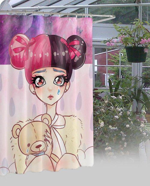 "New Melanie Martinez Cry Baby Waterproof High Quality Shower Curtain 60"" x 72"" #Unbranded #Modern"
