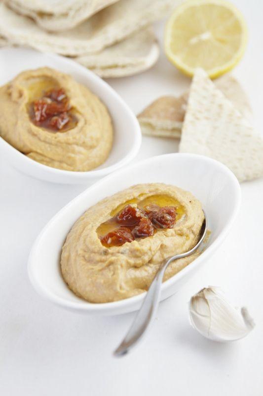 Sun Dried Tomato Hummus | Recipe