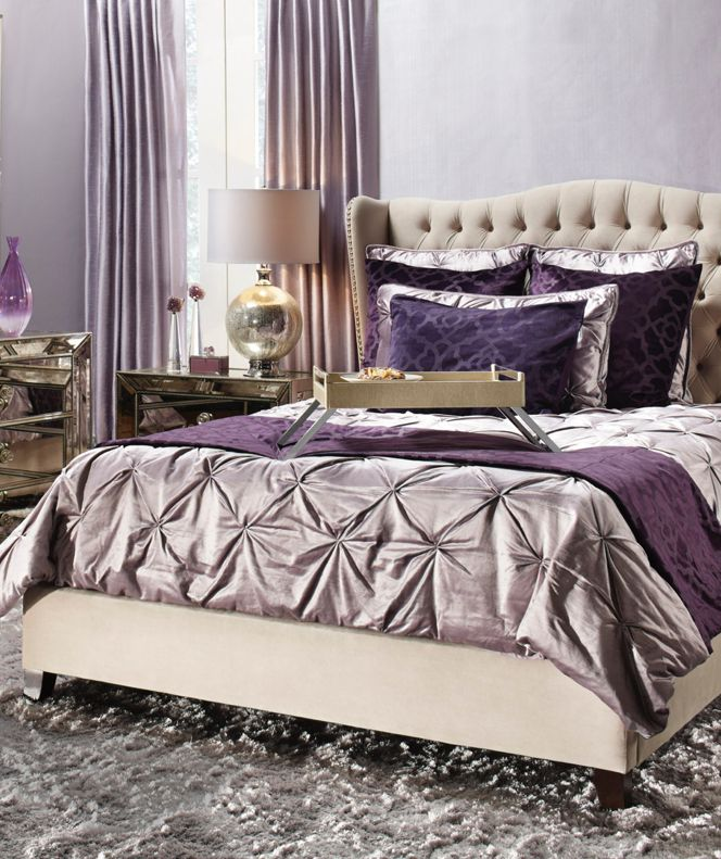 Lived in glamour meets the bedroom Sleep chic
