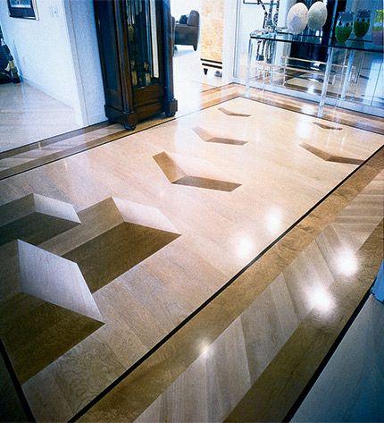 1997 NWFA Floor Of The Year Winner Scot Dorffler Hardwood Flooring,  Sacramento, Calif.
