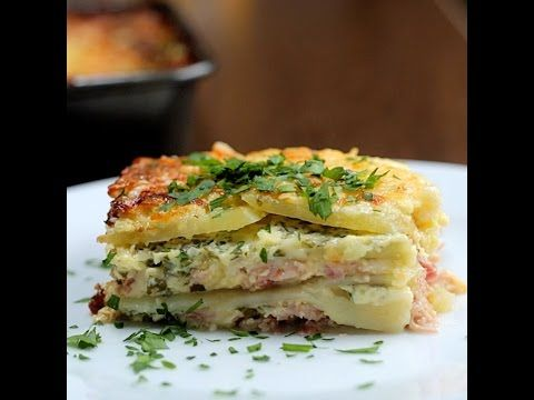 Cheesy Ham Potato Bake - Twisted
