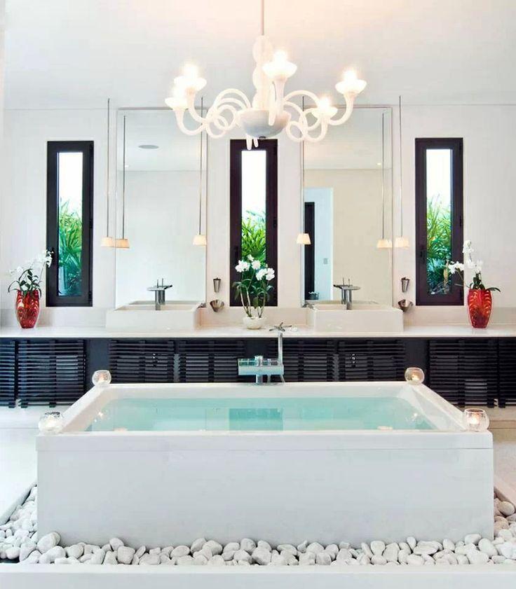 Amazing · BadezimmerWeiße BadezimmerTraumhafte BadezimmerSchöne Bäder BadezimmerideenBadezimmer ...