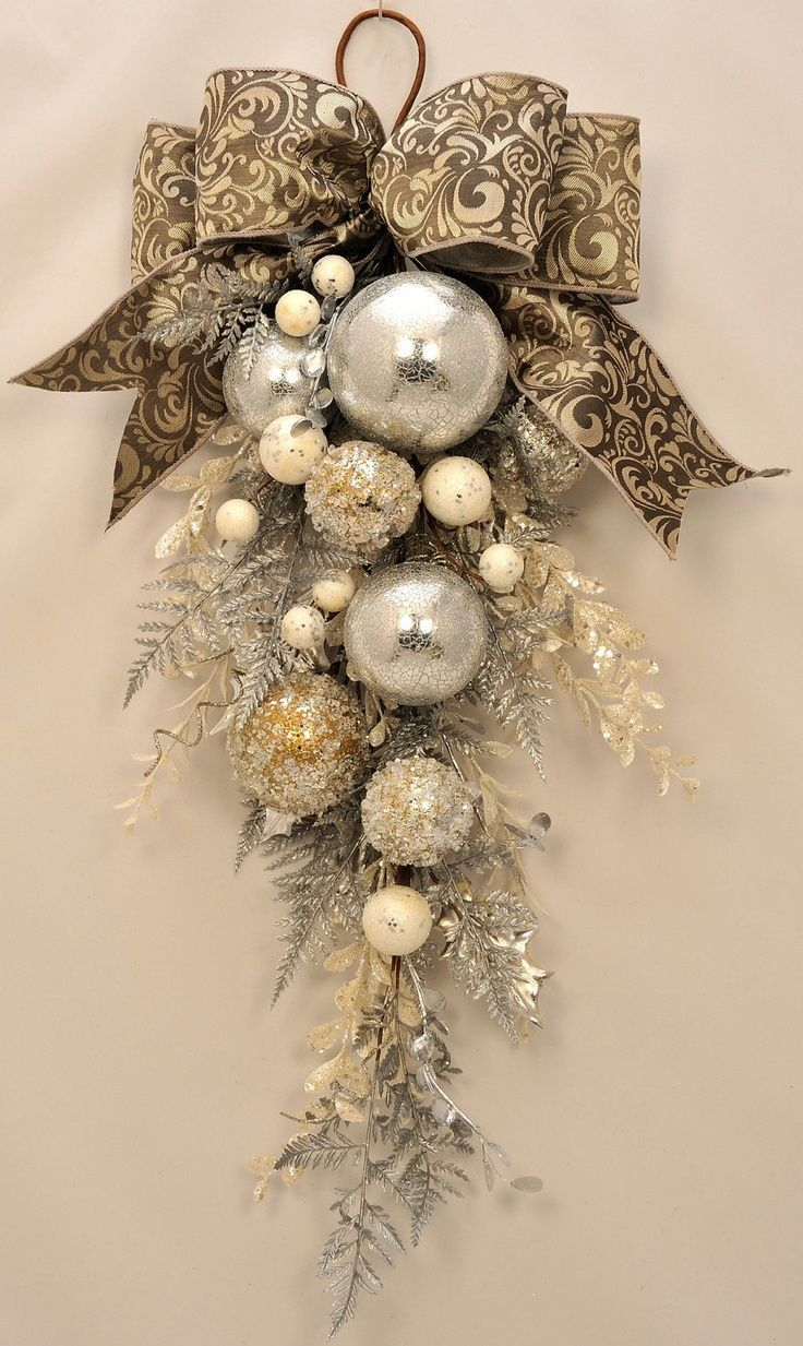 1000 ideas about christmas swags on pinterest christmas Christmas wreath decorations