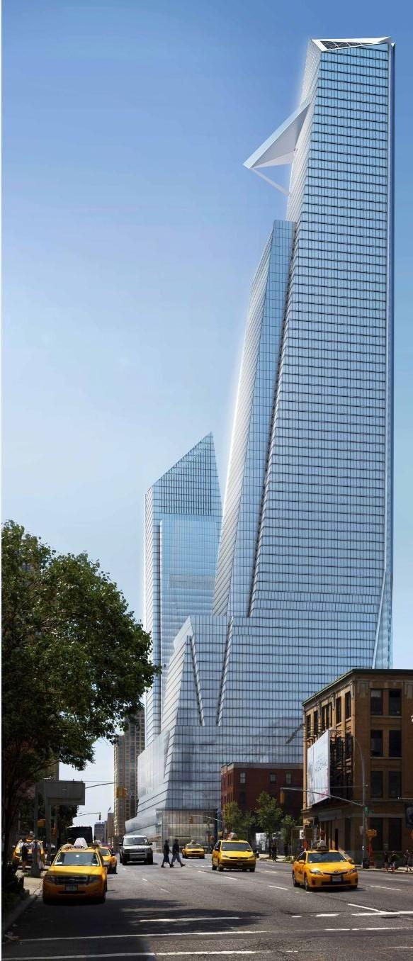#5) Hudson Yards North Tower | 1,337 ft | Kohn Pedersen Fox Associates