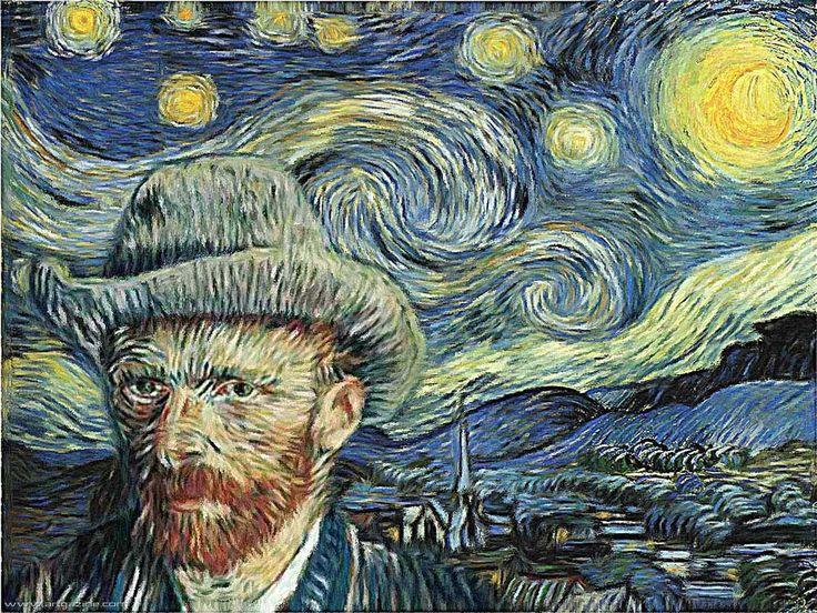 """""""Eu tenho a natureza, a arte e  a poesia, e se isso não for o suficiente, o que é? """"—  Vincent Van Gogh. #Van Gogh#palavras"""