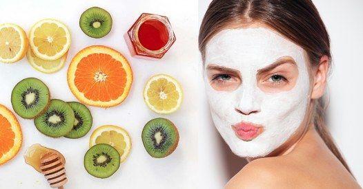 Wir verraten dir, wie du super pflegende Gesichtsmasken mit Hausmitteln wie Avocado, Erdbeeren oder Quark ganz schnell und easy selber machen kannst...
