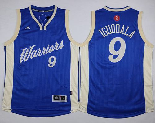 e45b5085f ... Collectibles Fansedge Golden State Warriors 9 Andre Iguodala Blue  2015-2016 Christmas Day Jersey 22.0 ...