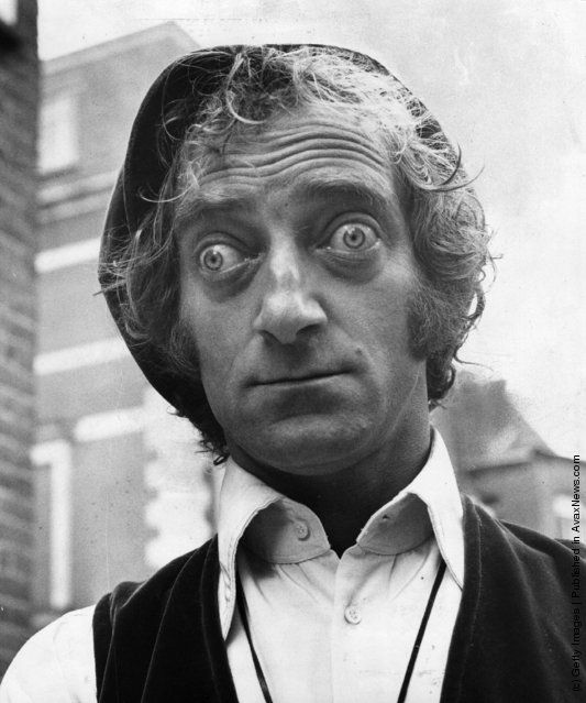 1970: TV and Film Comedian Marty Feldman (1933 - 1983) with characteristic pop-eyed look http://avaxnews.net/appealing/Stare.html