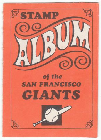 1969 Topps Stamp Album #10 San Francisco Giants front Ex+  $13.50