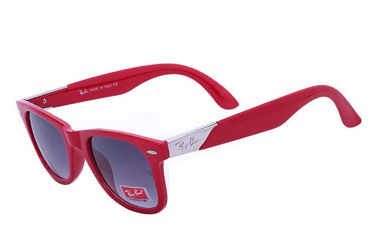 Ray Ban Wayfarer Lite Force RB4195 Purple Red Sunglasses