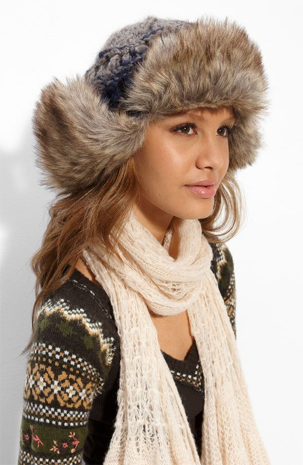fur trapper hat patterns - Google Search | Pattern for fur ...