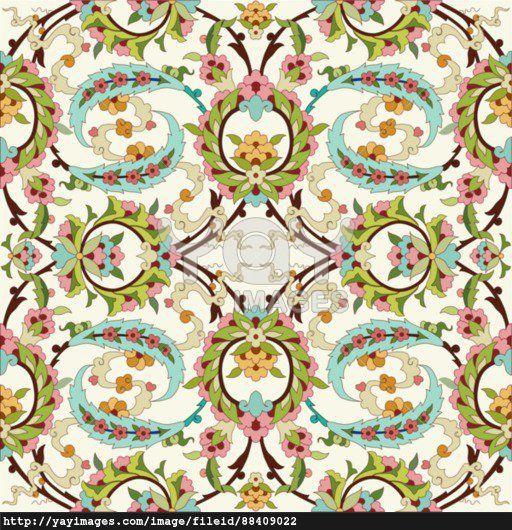 oriental ottoman design forty
