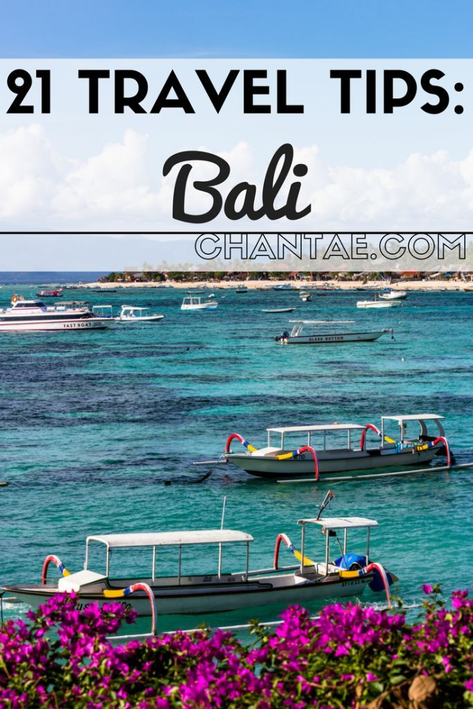 The best tips and tricks for traveling to Bali, Indonesia.