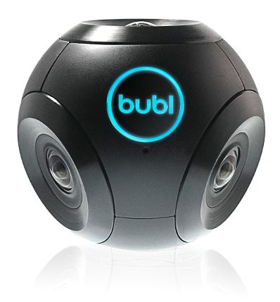 Bubl, maker of the world's first spherical camera.