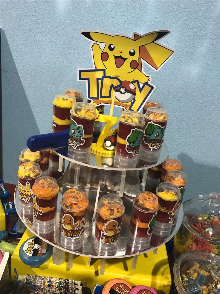 Pokémon cake push pops