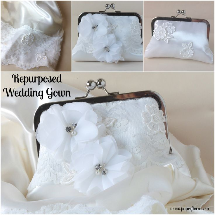 Repurposed Wedding Gown Make A Keepsake From Your Mothers
