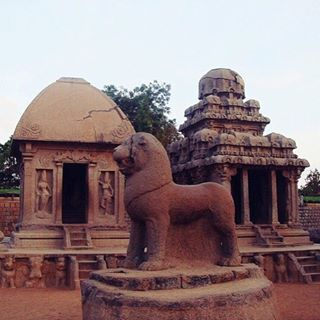 These exquisite rock cut temples in Mahabalipuram, a small town in Tamil Nadu, India are majestic and awe inspiring. #mahabalipuram #india #temple #history #AdventureCulture #awesome_globepix #Travel #instatravel #travelphotography #TravelPic #tourtheworld