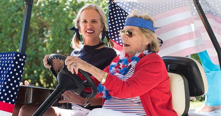 Ethel Kennedy Steps Out in Red, White and Blue at Hyannis Port's Independence Day Parade