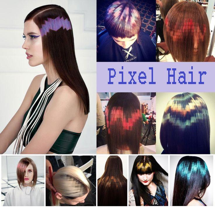 Un tempo c'erano shatush, splashlight e flamboyage. Oggi c'è l'effetto pixel, che richiama il mondo digitale e ricrea sui capelli delle elaborazioni geometriche e innovative. La tendenza proviene dalla Spagna ed è stata inventata da un parrucchiere di Madrid che ha creato un look davvero formidabile e stravagante. Pixel Hair significa infatti effetti tridimensionali e variazioni infinite, per uno stile sicuramente innovativo!