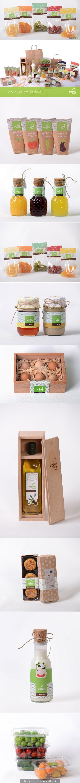 Organikshop Designed by: Fatma Kısa, Turkey http://www.packageinspiration.com/organikshop.html/