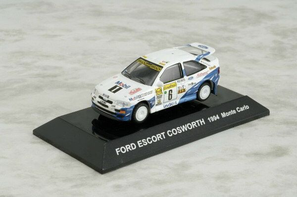 1/64 CMs RALLY COLLECTION SS9 Diecast FORD ESCORT COSWORTH 1994 Monte Carlo