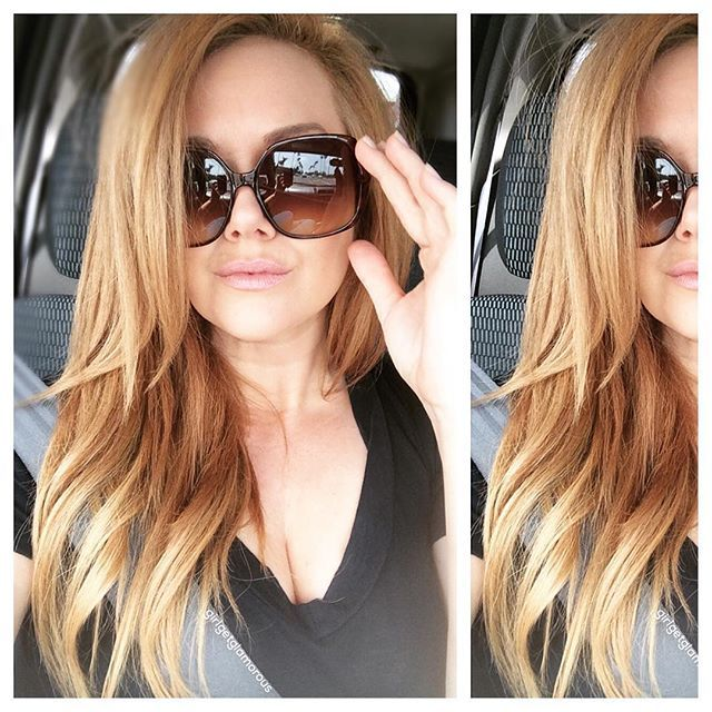 Strawberry Blonde  Love this shade so much!   checkout code: gggHAIRLove for $5 off shipping in any set of extensions www.girlgetglamorousHAIR.com
