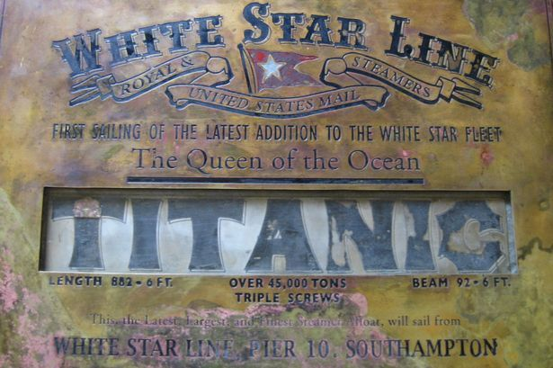 Artifact: The plaque was presented following the completion of the famous ship. The bronze and silver plaque was presented to the Irish shipbuilder and former Southampton Mayor, Lord Williams James Pirríe, chairman of Harland and Wolff, during a ceremony in the city on April 9th, 1912