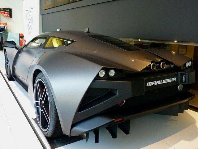 Amazing The Russian Super Car, Marussia.