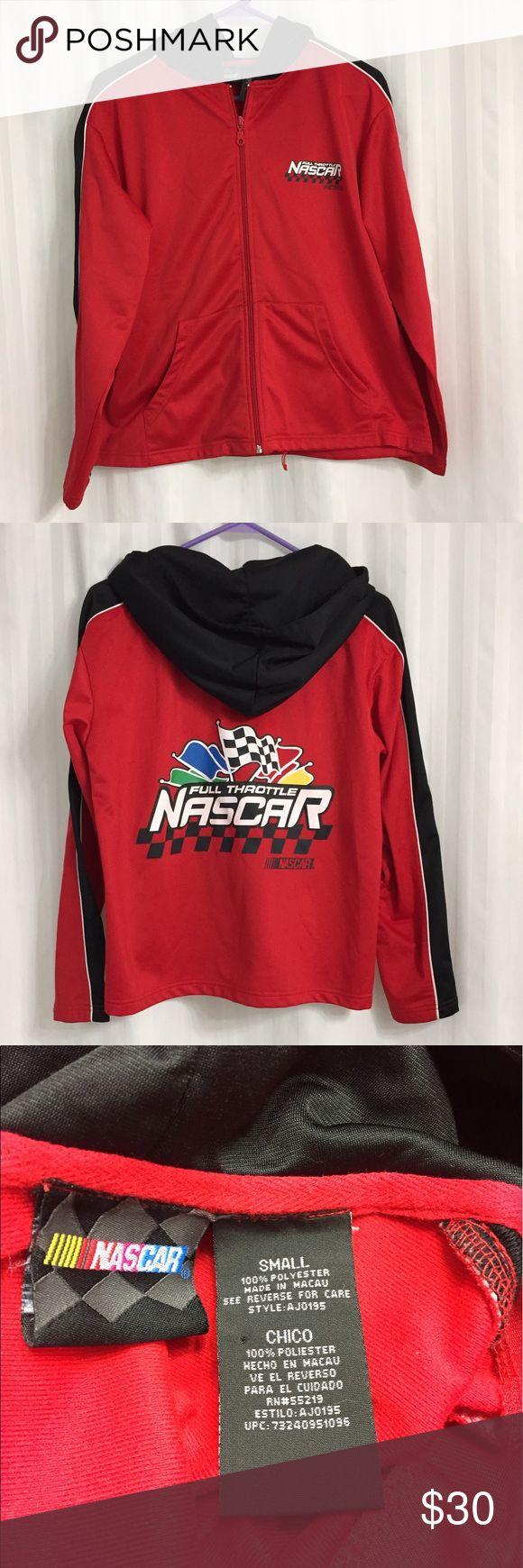 NASCAR Lightweight Hoodie Jacket Like new.  100% polyester. Nascar Jackets & Coats