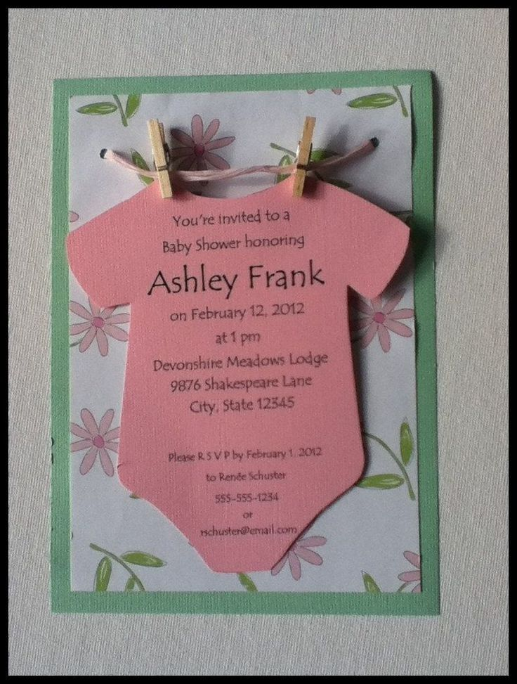 unique homemade baby shower invitation ideas%0A baby shower invites book instead of card
