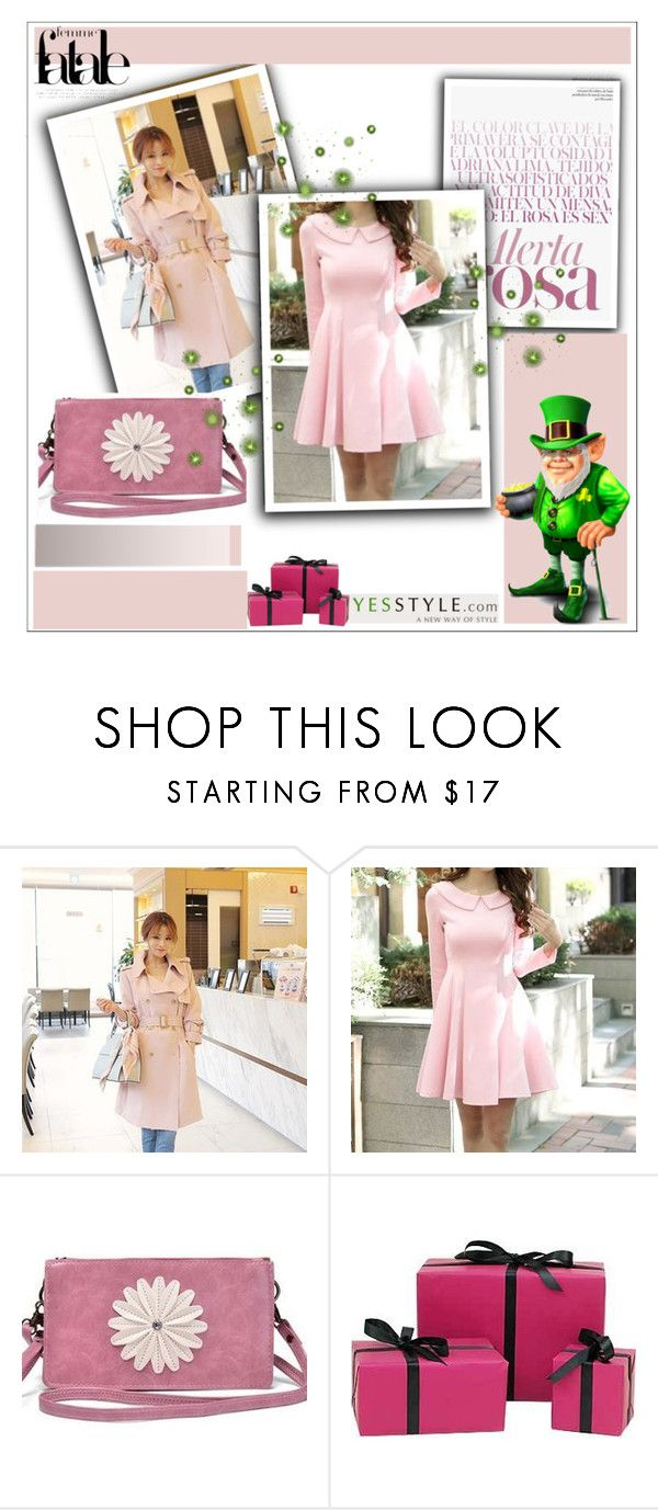 """""""2. Beautiful Style with Yesstyle - 2016"""" by selmica11 ❤ liked on Polyvore featuring DaBaGirl, Aikoo and Mulberry"""