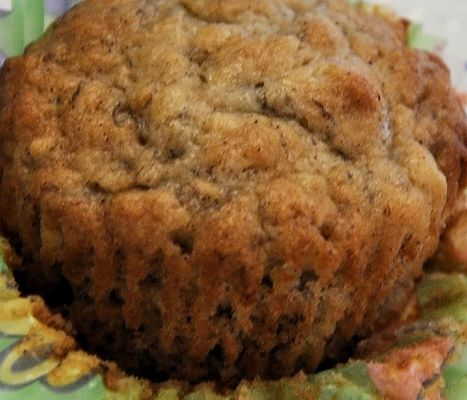 Sour Cream Banana Muffins #recipe