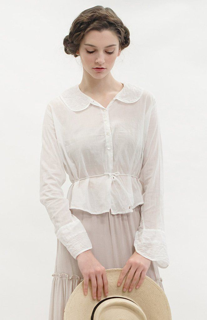 In the Parlor Blouse | Antique 1910s Top