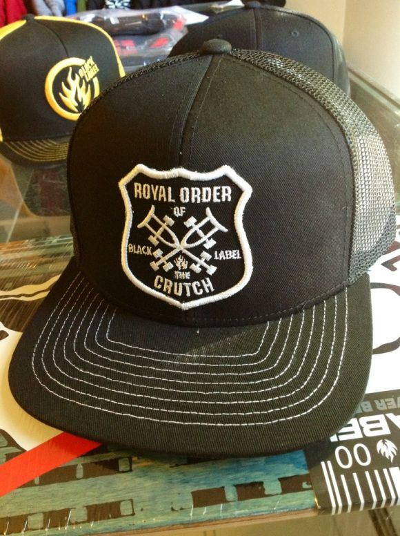 Black Label Royal Order of the Crutch hat  475cffa42249