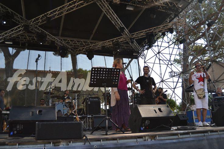 sound check Dell'Orchestra di Piazza Vittorio e Ginevra di Marco